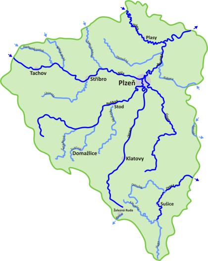 Řeky a říčky